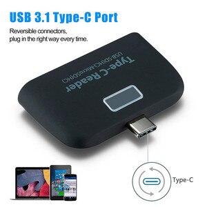 Image 4 - Baolyda lettore di Schede 4in1 OTG/TF/SD Smart Mini lettore di Schede di Tipo C Adattatore USB/Micro USB carica Del Telefono Porta lettore di Schede Combo