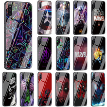 Get more info on the Marvel The Avengers Jorker Dead Pool Tempered Glass phone case for Xiaomi 8 Lite 9 A1 A2 Redmi 4X 6A Note 5 6 7 Pro F1