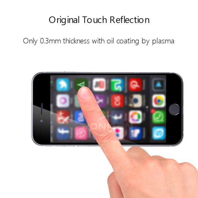 9H Full Coverage Cover Tempered Glass For iPhone 7 8 6 6s Plus Screen Protector Protective Film For iPhone X XS Max XR 5 5s SE