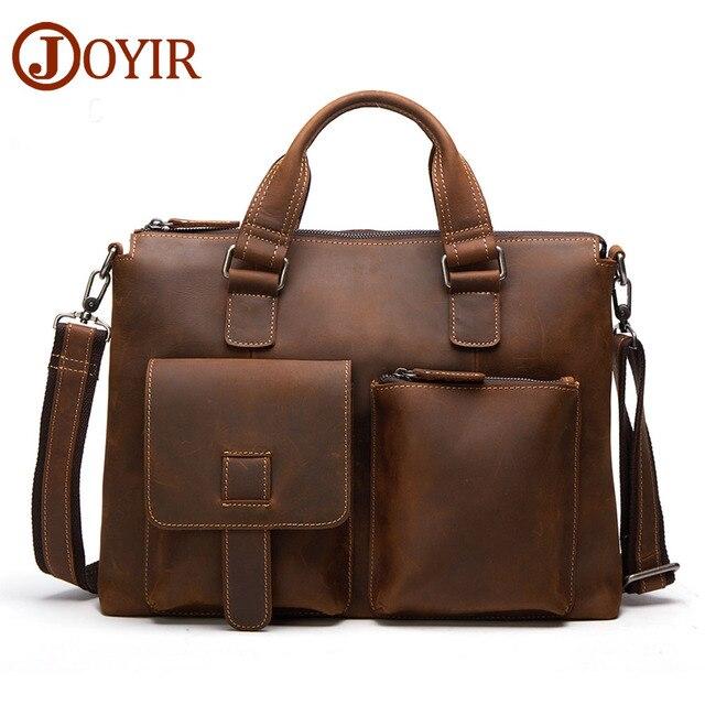 2017 Designer Laptop Bag Mens Leather Handbag Genuine Leather Men Bag  Famous Business Shoulder Bag Crossbody d61b2600c8153