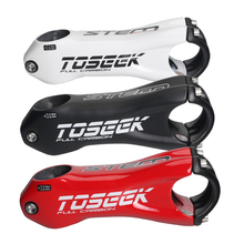TOSEEK Full Carbon Stem Bike Handlebar Stem 31.8*80/90/100/110 mm Mtb Bike Stem 3 Colors все цены