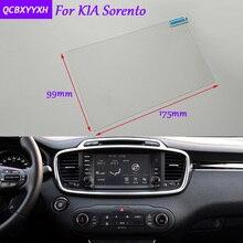 Автомобиля стикер 8 дюймов gps-навигации Экран стекло защитная пленка для Kia Sorento Аксессуары Управление из ЖК-дисплей Экран стайлинга автомобилей