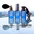 Mini Glass Transparent 10ml Bottle Totem Lake Blue Perfume Spray Bottle Roll on Bottle Cosmetics Perfume Atomizers