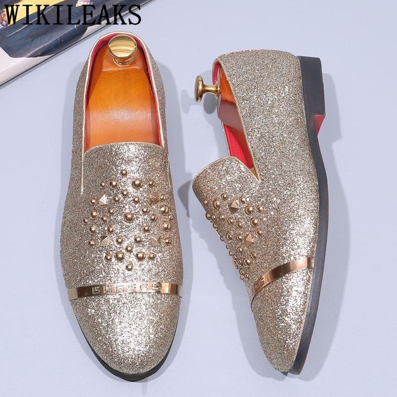 glitter formal shoes men elegant men dress shoes men party official shoes mens 2019 herenschoenen scarpe zapatos oxford hombre