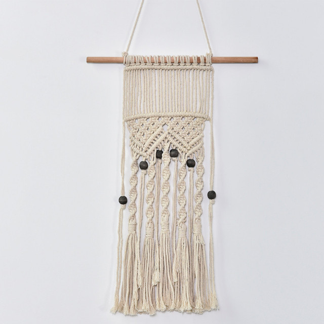Aliexpress.com : Buy 100% Hand Woven Wall Hangings Natural Color ...