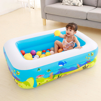 Foldable Children Family Inflatable Swimming Pool Outdoor Safe Water Pool Child Balls Toy Pool Thicken Inflatable Swimming Pool