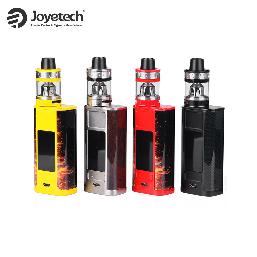 Joyetech original Cuboid grifo kit TC 228 W + 4 ml procore Aries tanque atomizador e CIG vape kit vs predator Electronic cigarro vaping