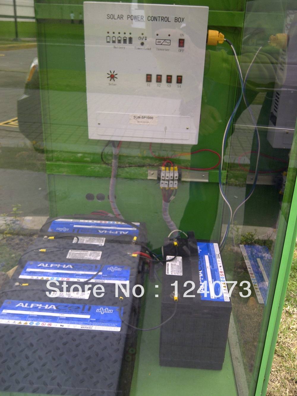 NEW!,Free Shipping,Solar System Control Box(including solar charge controller, inverter, wiring terminals),Wholesale with coupon