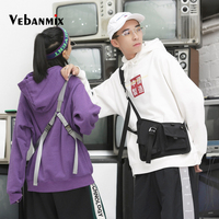 Men Tactical Function Shoulder Bag Multi pocket Hip Hop Streetwear Men Women 2019 Fashion Tactical Fanny Pack Chest Rig Bum Bag