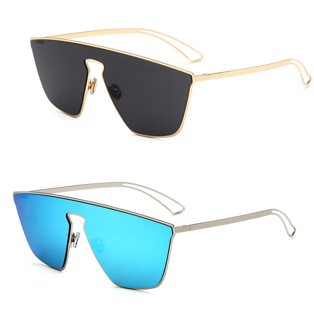 New low-priced promotional conjoined piece sunglasses fashion and  personality men and women travel dance lovers sexy glasses c6f7f2a9da