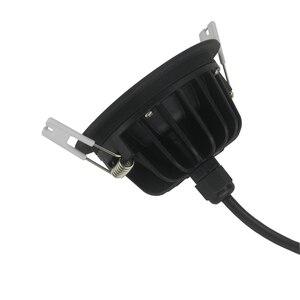 Image 5 - IP65 עמיד למים תקרה שקוע LED ספוט אור AC220V 15W/12W/9W/7W/5W LED Downlight עבור אמבטיה מקלחת חדר סאונה