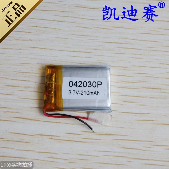 Batteries 3.7v 042030p Polymer Lithium Battery 210mah Traveling Recorder Power Source Led Speaker Toy