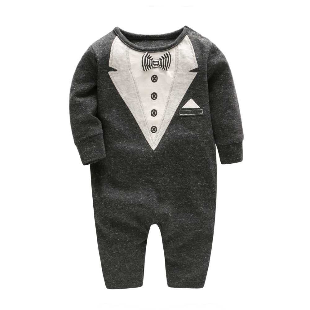 2018 newborn baby boy winter clothes 100% Cotton Long Sleeve Baby Rompers Soft Infant Baby girl Clothing Set Jumpsuits newborn baby boy rompers autumn winter rabbit long sleeve boy clothes jumpsuits baby girl romper toddler overalls clothing