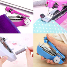 Mini Manual Sewing Machine Simple Operation Tools Cloth Fabric Handy Needlework Tool
