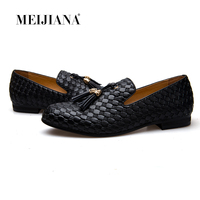 MEiJiaNa/брендовая мужская обувь; Новинка 2017 года; BV дышащие удобные роскошные мужские мокасины на плоской подошве; мужская повседневная обувь