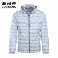 BOSIDENG MEN Summer Coat Thin Jacket Spring Coat Hooded Solid Color Ultra Light Windproof Sun Proof