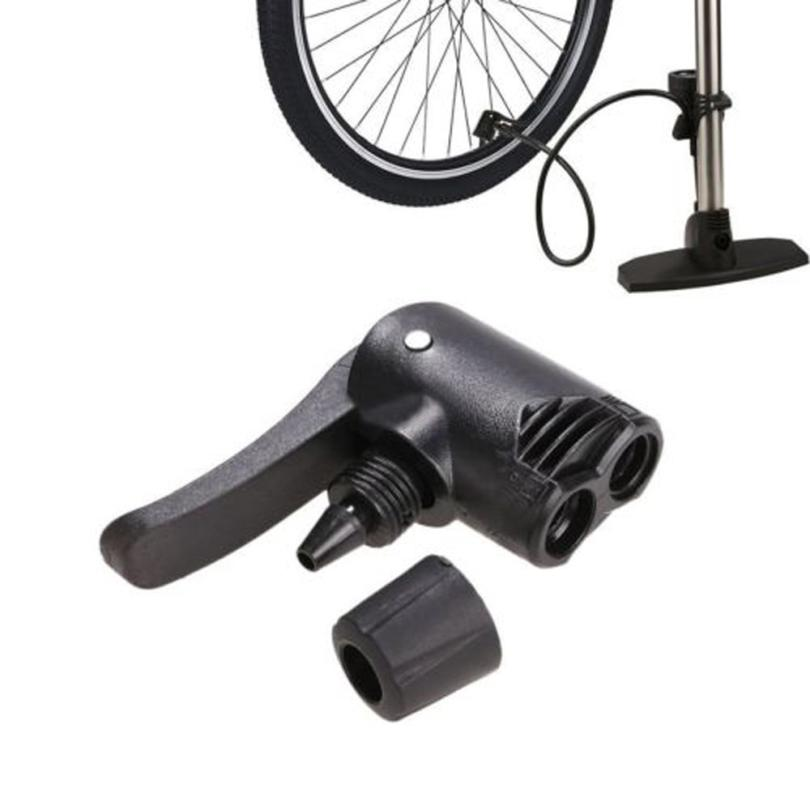 snowshine2 #5022 Bicycle Bike Cycle Tyre Tube Replacement Presta Dual Head Air Pump Adapter Valve bicycle pump nozzle hose adapter dual head pumping parts service accessories f v a v schrader presta valve convertor bycicle