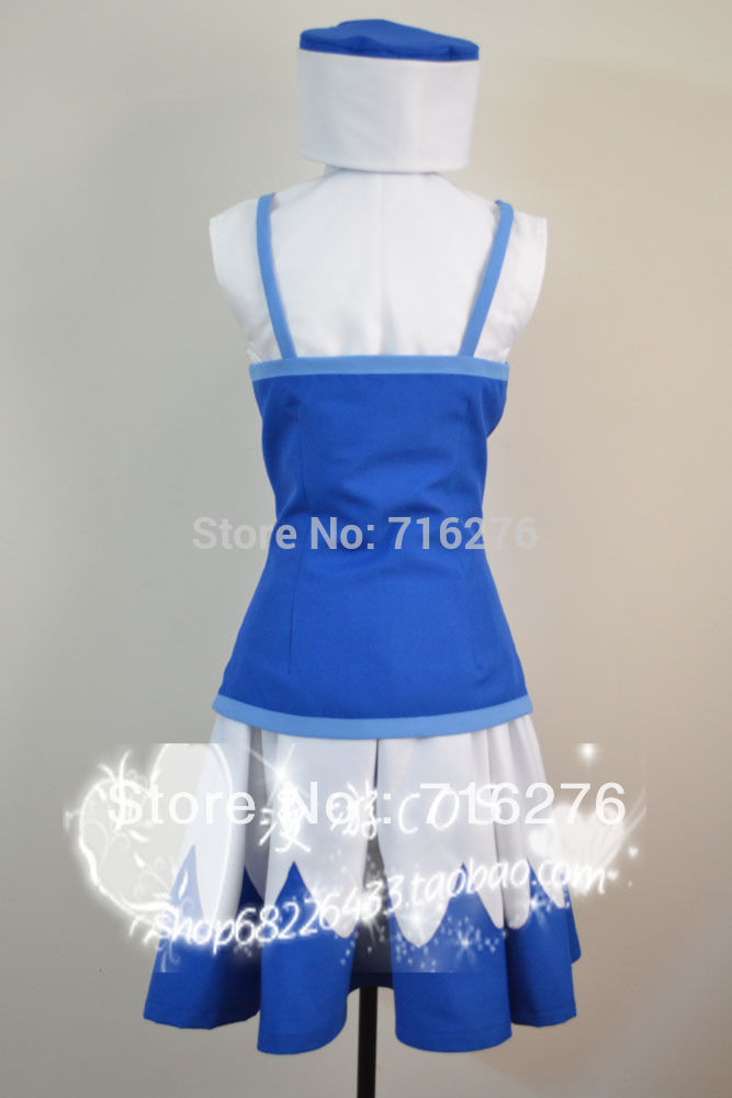 Kisstyle Fashion Fairy Tail Juvia Lockser Cosplay Costume