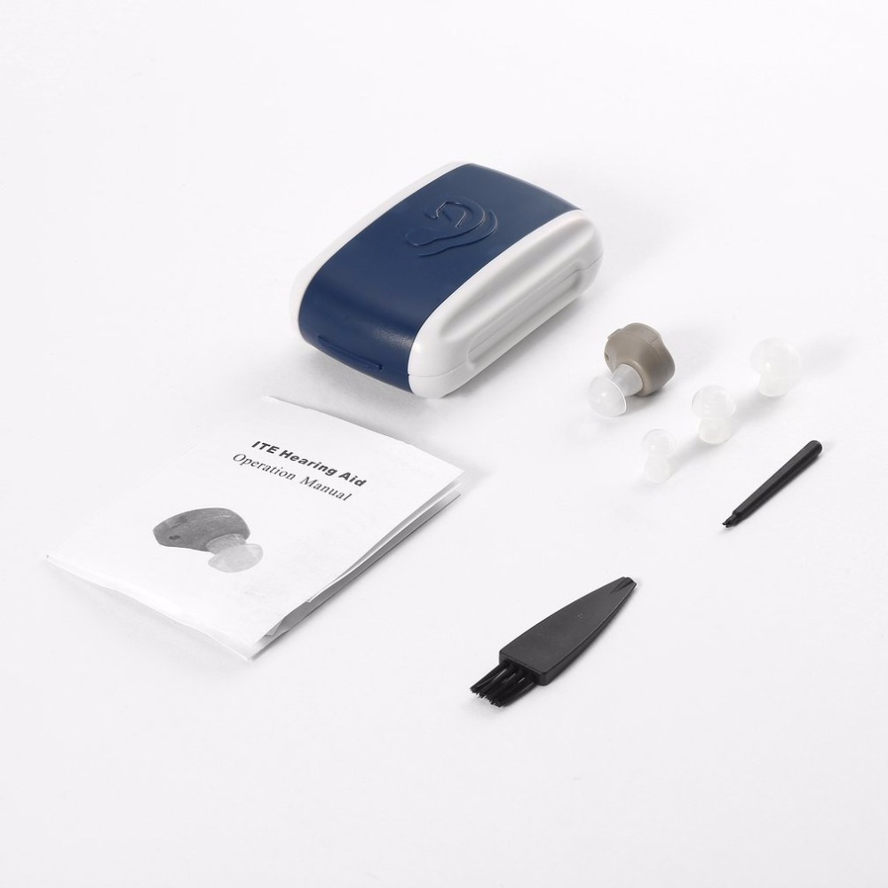 Professionnel Portable In-Ear Amplificateur Sain de Voix Réglable Tone Mini Audience Oreille Aide Soins de Santé À Long Durable léger