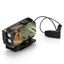 Best price 700m Mini Laser Rangefinder for Riflescope laser sight Rifle Scope Mate Laser range finder for hunting