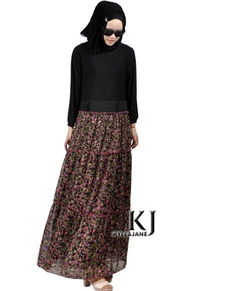 2015 мода парандёу абая мусульманская девушка с длинным рукавом платье турецкие женской одежды плюс размер дубай арабские djellaba цветы халат КДЖ