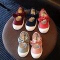 Весна и Осень новый 2017 холст лук детская shoes девушки принцесса shoes