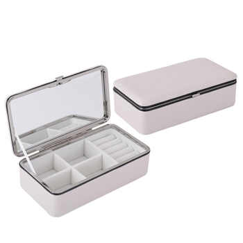 LIYIMENG Jewelry Packaging Box Casket For Exquisite Makeup Case Cosmetics Beauty Organizer Container Graduation Birthday Gift - DISCOUNT ITEM  44 OFF Home & Garden