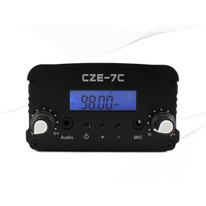 Image 2 - 1W/7W Stereo Pll Fm zender Uitzending Radio Station CZE 7C 76 108 Mhz + Tnc Antenne + Voeding + Audio Cabel