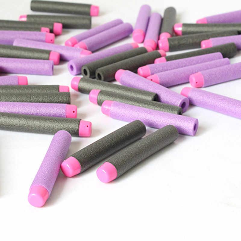 10PCS Voor EVA Kogels Zachte Holle Gat Hoofd 7.2cm Refill Darts Speelgoed Pistool Kogels voor Pistool speelgoed Serie blasters Kid Kinderen Gift