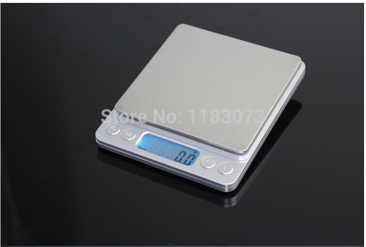 1kg 0.1g Mini Electronic Jewelry Weighting Scale Digital Food Kitchen Bench Floor Weight Balance Coffee Baking Table Scale
