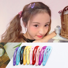 10pcs Multicolor Hair Clips for Hair Clip Pins BB Hairpins Color Metal Barrettes for Baby Children Women Girls Style Accessories