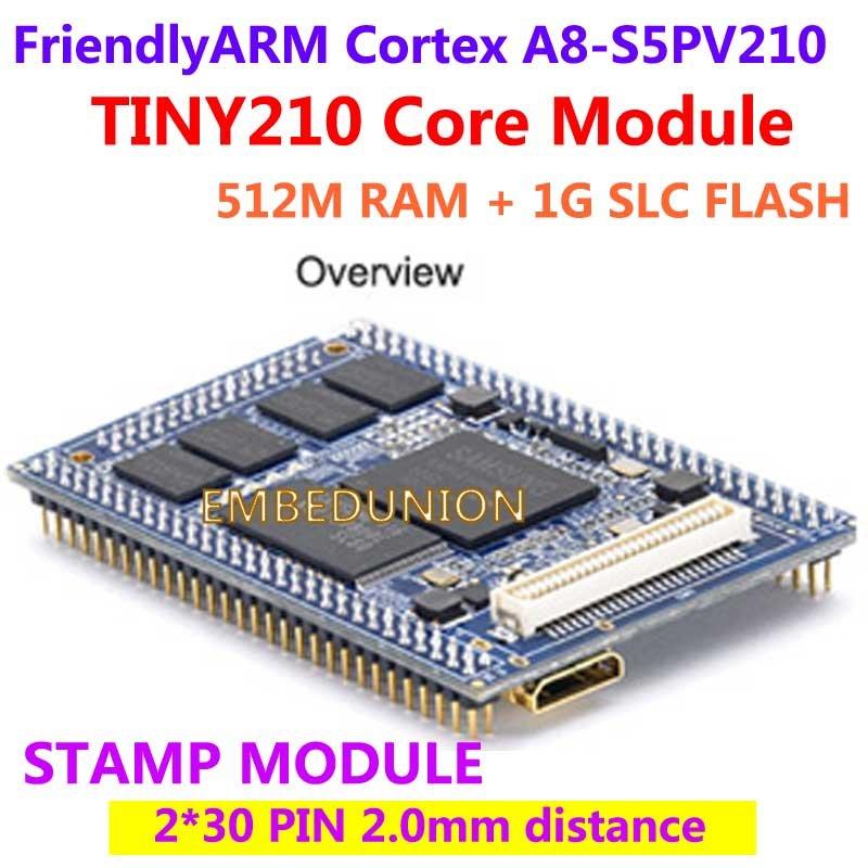 FriendlyARM S5PV210 Cortex A8 TINY210 Core Module Stamp Module 512M RAM 1G NAND Flash Development Board