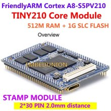 FriendlyARM S5PV210 Cortex A8,TINY210 Core Module Stamp Module, 512M RAM+1G NAND Flash, Development Board Android4.0