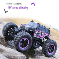 New 4WD Electric RC Car Rock Crawler Remote Control Toy Cars On The Radio Controlled 4x4 Drive Off Road Toys For Boys Kids Gift