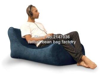 Purple outdoor bean bag sofa chair, garden furniture set , high quality  waterproof outdoor sofa sac