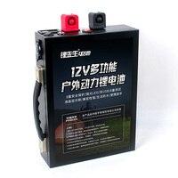 12 В 70Ah LiFePo4 батарея Портативный Открытый аварийного питание с двойной USB порты и разъёмы автомобиля Авто прикуриватели + 5A EU/US зарядное устро