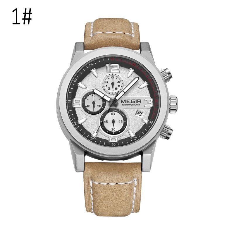 Business Men Quartz Watches Chronograph Luminous Waterproof Wristwatch with Calendar LL@17Business Men Quartz Watches Chronograph Luminous Waterproof Wristwatch with Calendar LL@17