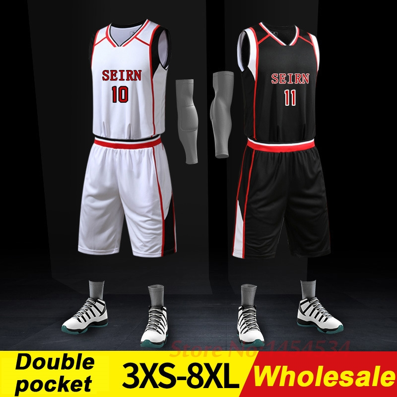 303db27ea0fb Wholesale 3XS~8XL New Basketball Suits Breathable Fast Dry Men s and  Women s Sports Team Uniforms