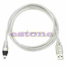 5ft 1.4 м USB для Firewire IEEE 1394 4 Булавки Для ilink кабель-адаптер Z17 Прямая поставка