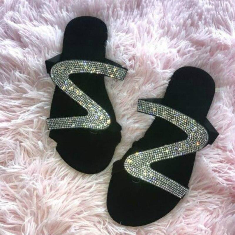 Slides Women Mules Shoes Women Flip Flops Women's Slippers For Summer Mules For Women Slippers Women's Flip Flops Female Slipper