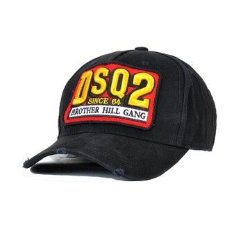 DSQICOND2 Gorras de béisbol Gorras de Hip Hop para hombres de moda de las mujeres  Gorras hueso papá sombreros gorra de algodón carta bordado 68d4836972f