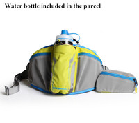 ROSWHEEL Cycling Hiking Waist Water Bottles Bags Outdoor Sports Camping Belt For Women Men Fanny Pack Water Bottle Included