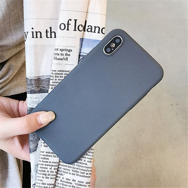 Image 4 - Matte Solid Color Cover Phone Case For Samsung Galaxy A10 A30 A40 A60 A70 M10 M20 M30 S8 S9 S10 Plus Lite Note 9 Soft Back Funda-in Fitted Cases from Cellphones & Telecommunications