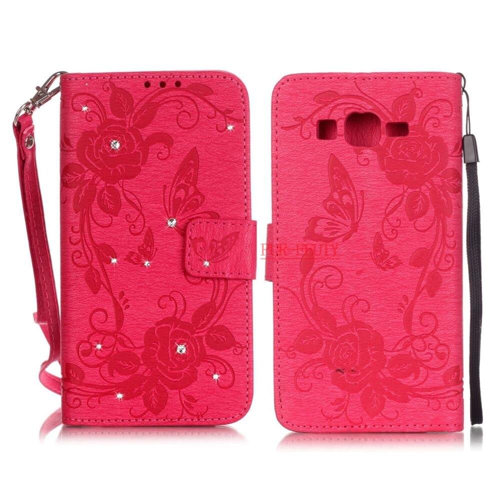 Cas Pour Samsung Galaxy Grand-Premier G530 SM-G530F SM-G530H G531 SM-G531H ds SM-G531F SM-G531H/DS En Cuir Cas Flip Téléphone couverture