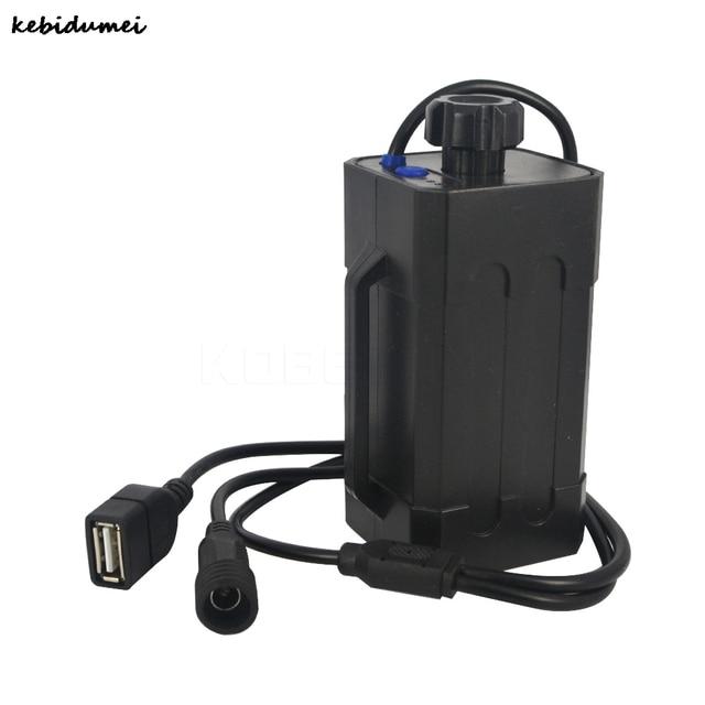 Kebidumei Waterproof ABS 18650 Power Battery Storage Pack Case Box Holder For  Motorcycle Bike Light Cell