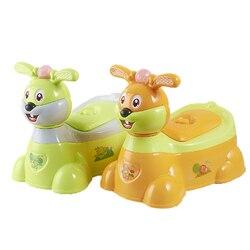Baby Wc Cartoon Kaninchen Musikalische Kinder Kunststoff Baby Toilettentrainer Mädchen Junge Bequeme Töpfchen Reise Töpfchen kinder Wc