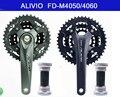 Набор передач SHIMANO ALIVIO для Кривошип горного велосипеда 4000/4050/4060MTB  детали для велосипеда  включая BB51 центральный 44-32-22T 3X9