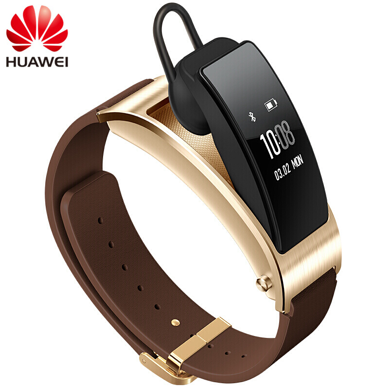 Original Huawei TalkBand B3 Talk Band Dial Answer Calls Bluetooth Smart Bracelet 0.7