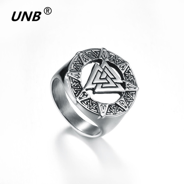 Mens Stainless Steel Ring Band Illuminati The All Seeing Eye