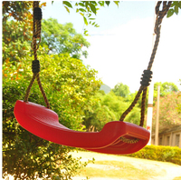 Children Outdoor Play Game Toy Swing Seat Swingset Playground Plastic camping on vacation sandy beach summer